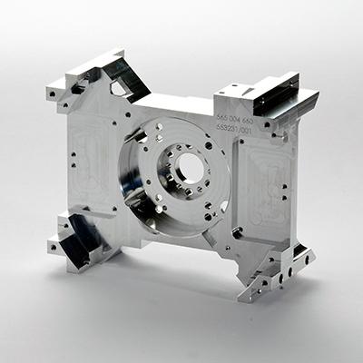 5-Achsen Frästeil aus Aluminium