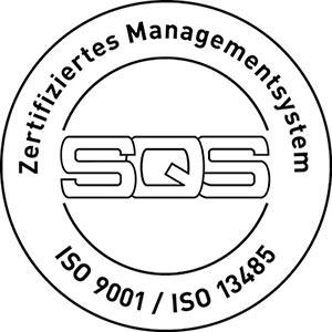 Zertifiziert nach ISO 9001 und EN ISO 13485