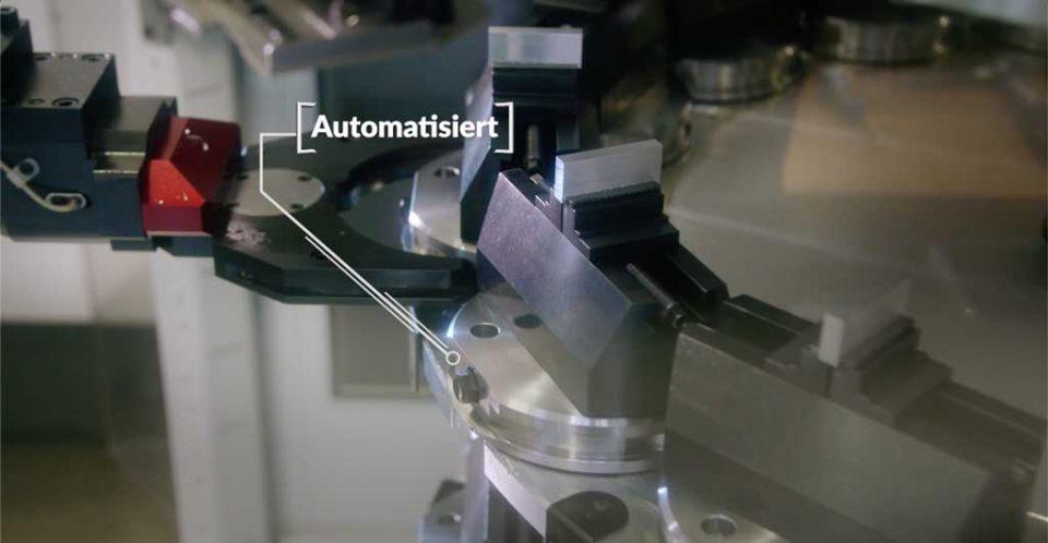 Automation CNC Maschine